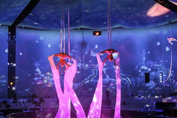 Art in the air silk trio