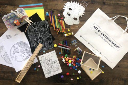 Art Bags for Kids