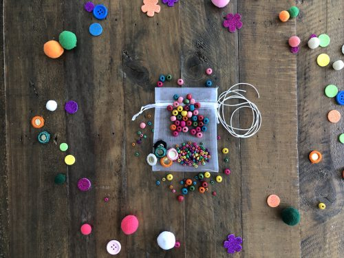 BRACELET MAKING WITH WOODEN BEADS