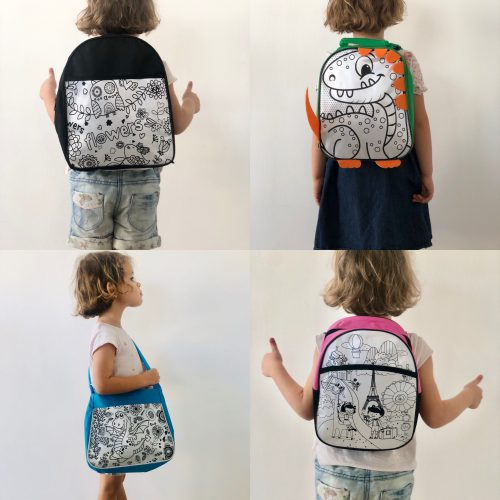 TRAVEL ART Bags, choose from 4 different styles, items inside are equal
